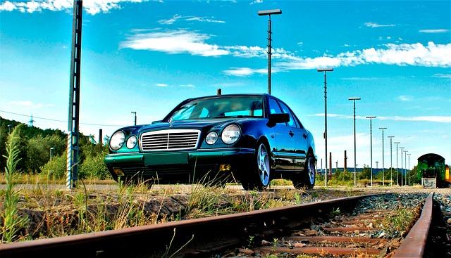 Mercedes na kolejích