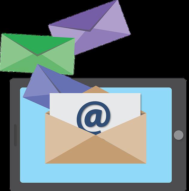 e mail ikona