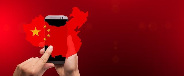 Čína smartphone